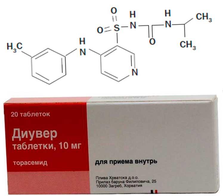 препарат диувер инструкция по применению - фото 3